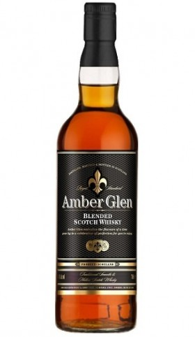 Amber Glen Scotch Whisky - cover